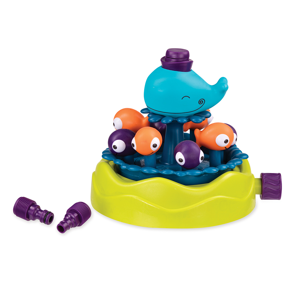 B.Active - Whirly Whale Sprinkler