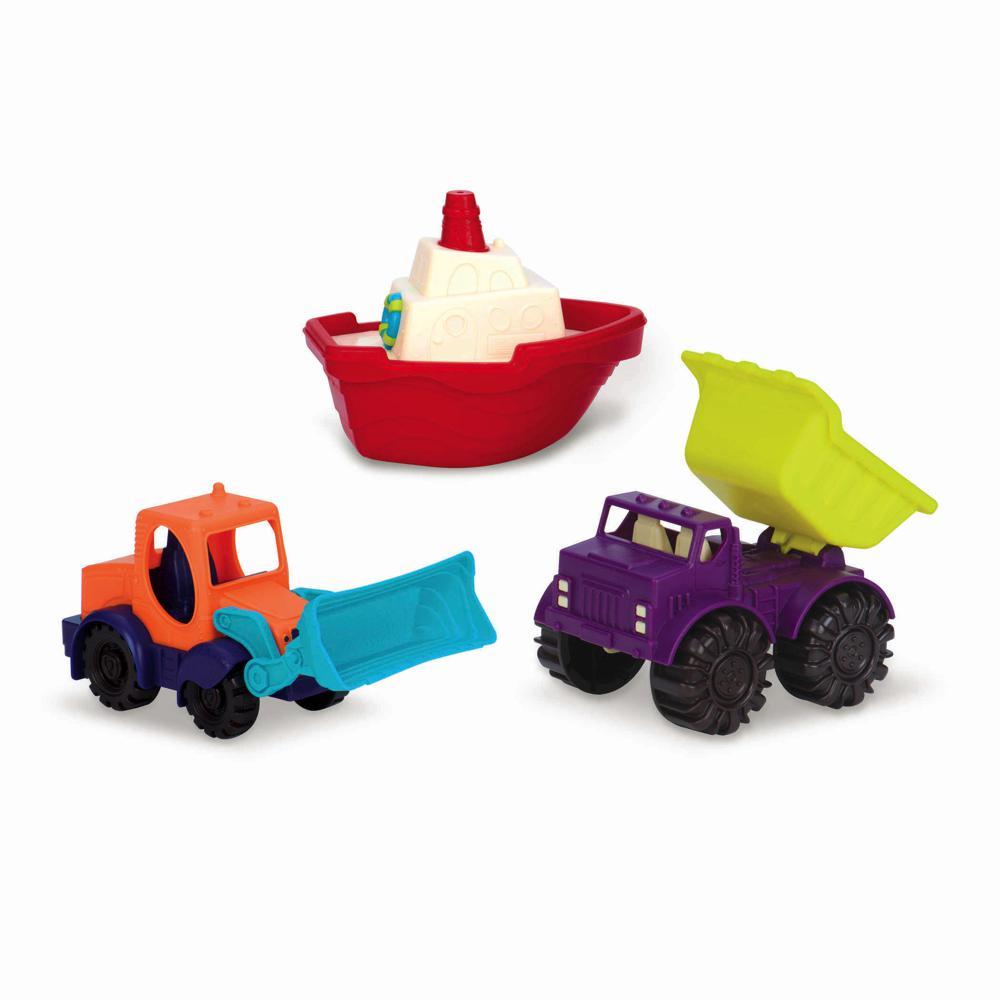 Mini véhicules ensemble de 3 pièces