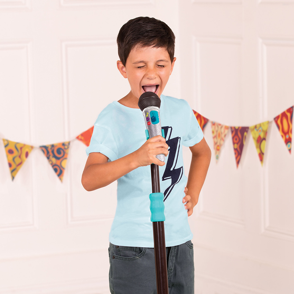 B. Musical - Mic It Shine Microphone with stand