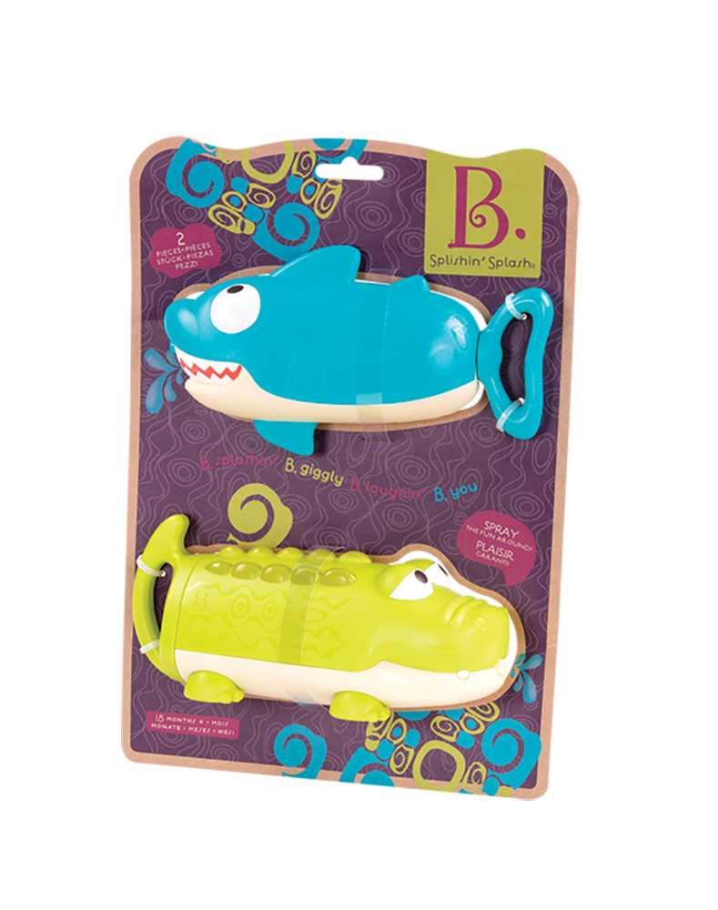 B.Active - Splishin' Splash Assorted 2 pieces