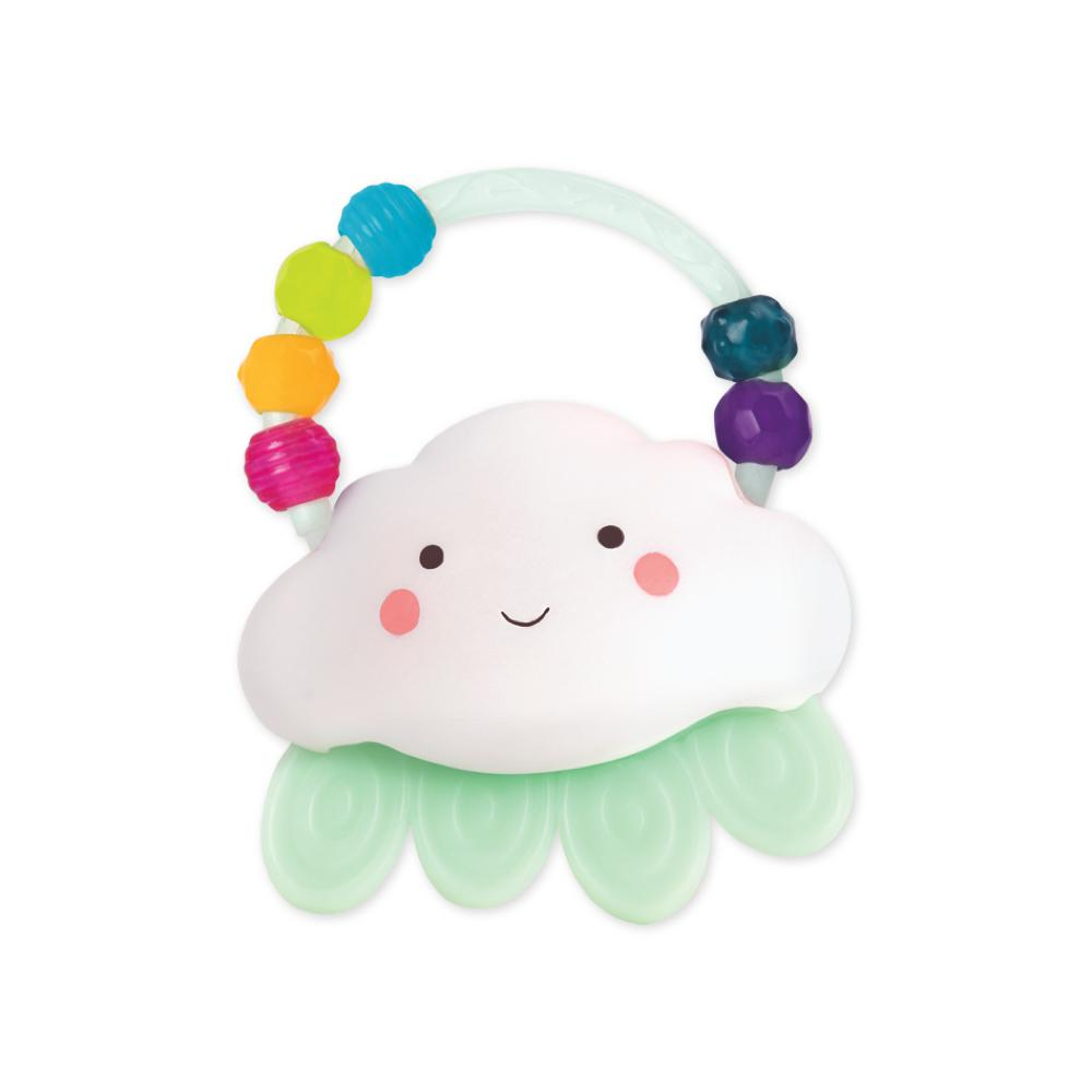 B.Baby - Rain-Glow Squeeze Light-up Cloud Rattle