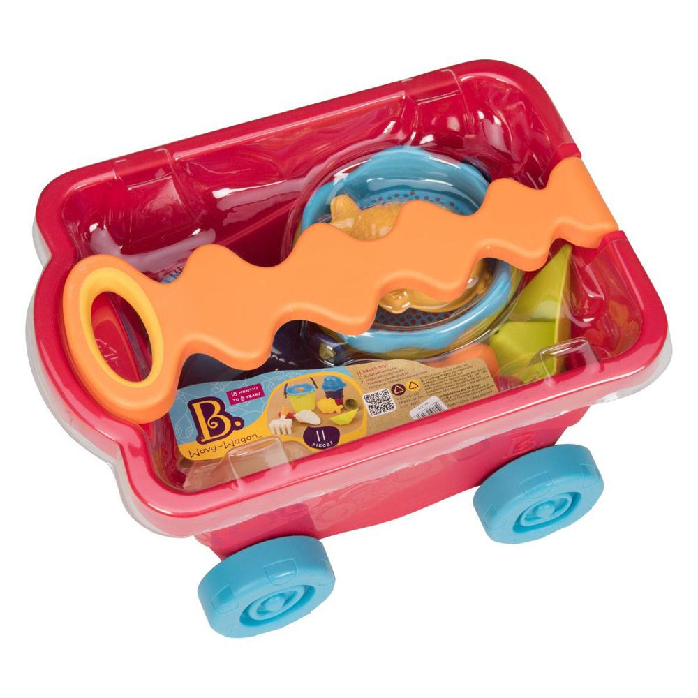 B. Summer - Beach Wavy-Wagon™ Red Clear and accessories