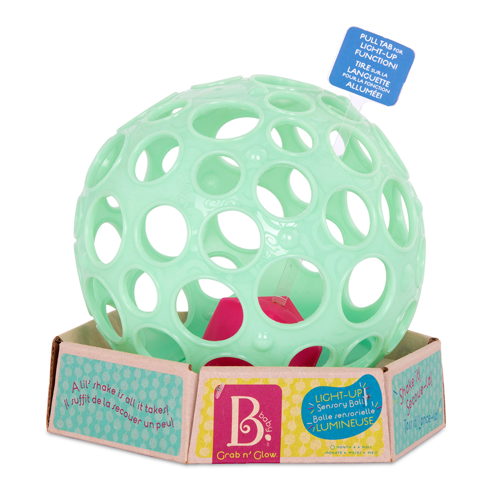 B.Baby - Soft ball Grab n' Glow with glowing light