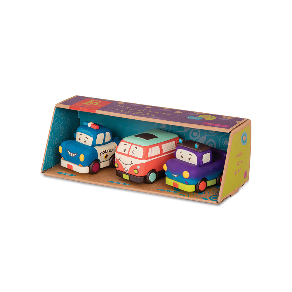 B.Lively - Mini Vehicles 3 pieces gift set