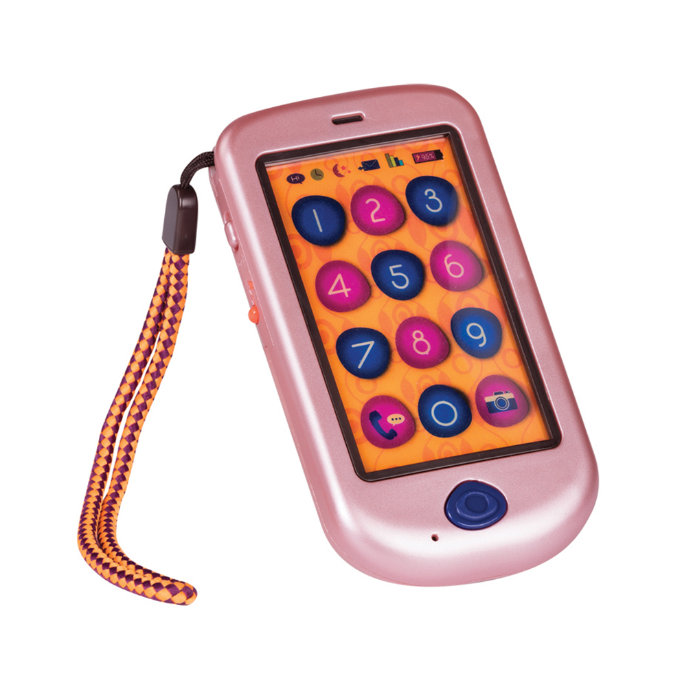 B.Lively - Touch Screen Hiphone, Metallic Rose Gold