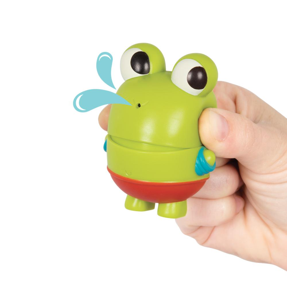 Land of B. - Glow and Splash Whale with Squirt Frog