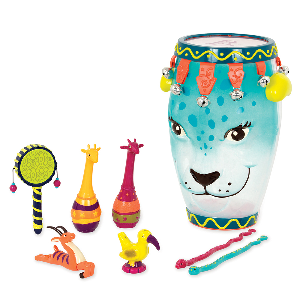 B.Musical - Drum with Instruments Jungle Ham