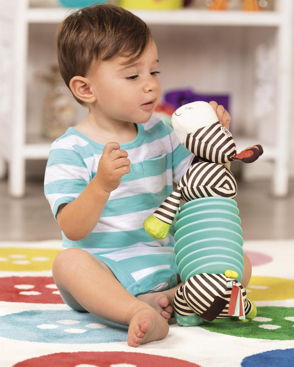 B.Baby - Squeezy Zeeby Soft accordeon Zebra