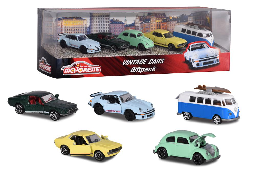 Majorette Vintage Cars 5 pieces set