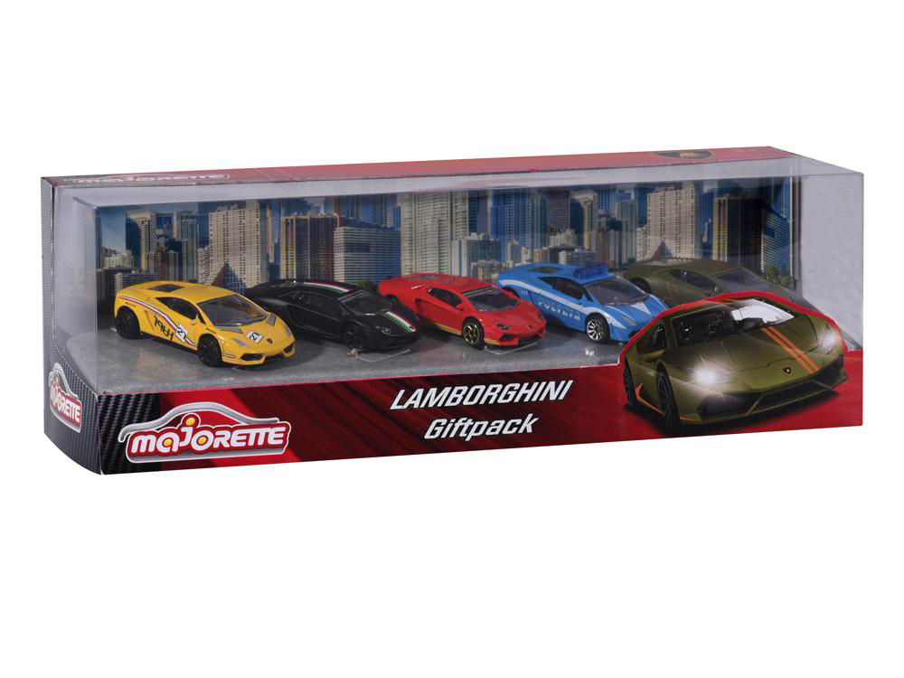 Majorette Lamborghini Cars 5 pieces set