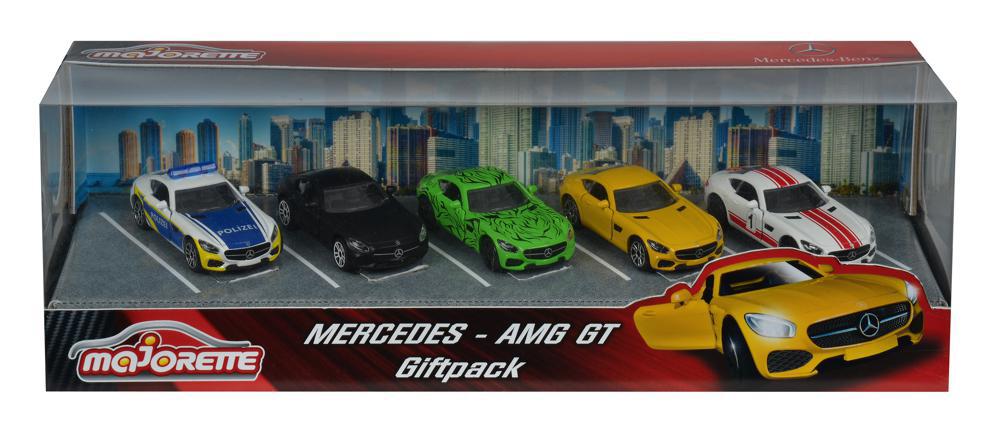 Majorette - Mercedes Cars 5 pieces set