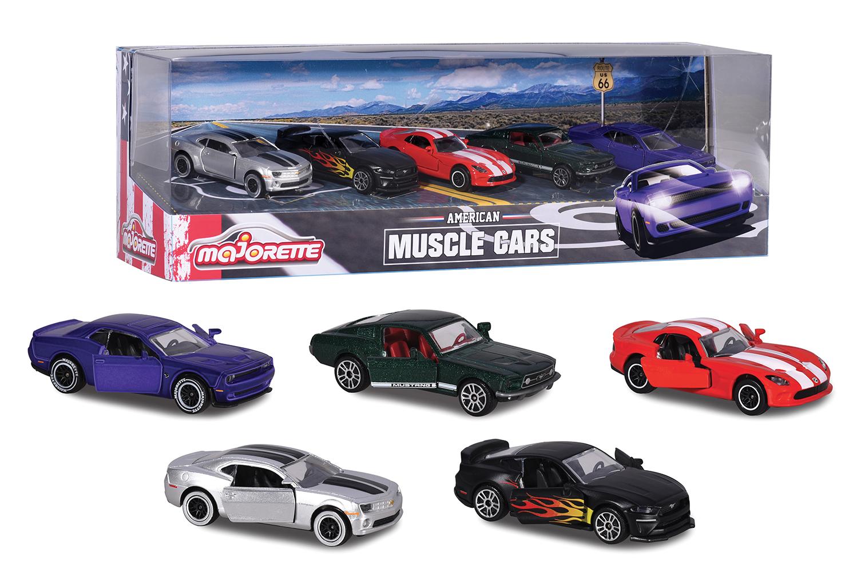 Majorette - Muscle cars 5 pieces set