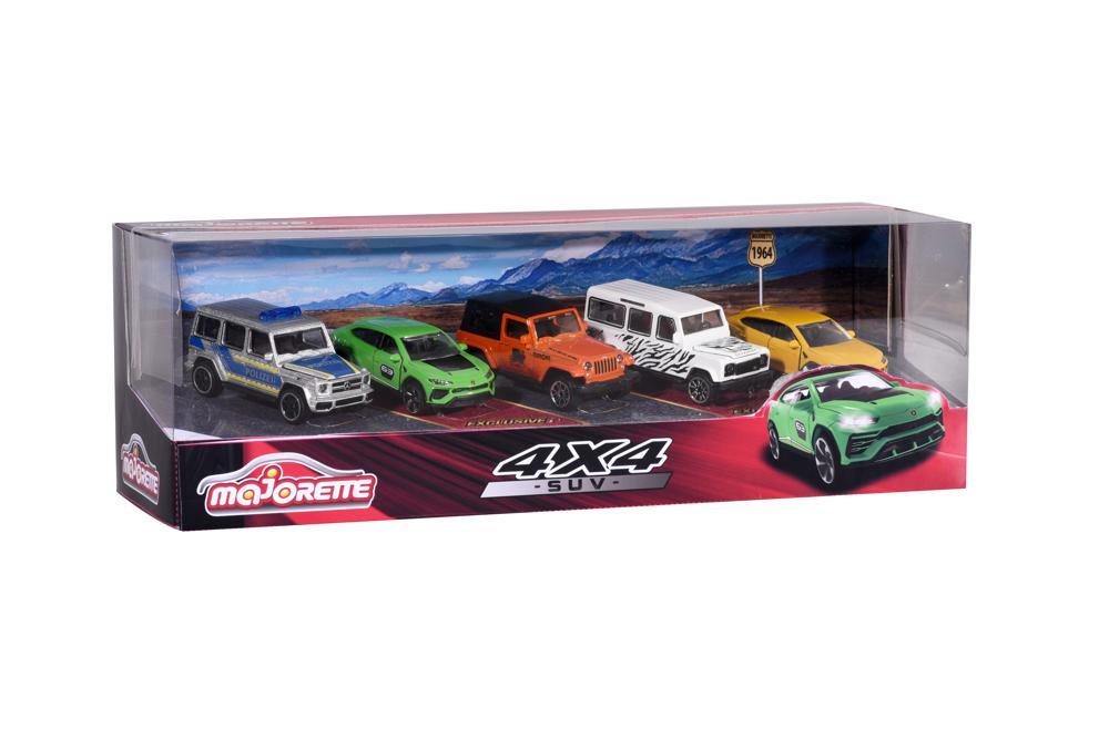 Majorette - SUV 5 pieces set
