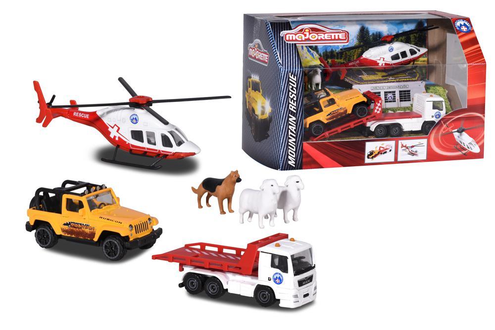 Majorette - Diorama Mountain Rescue Playset