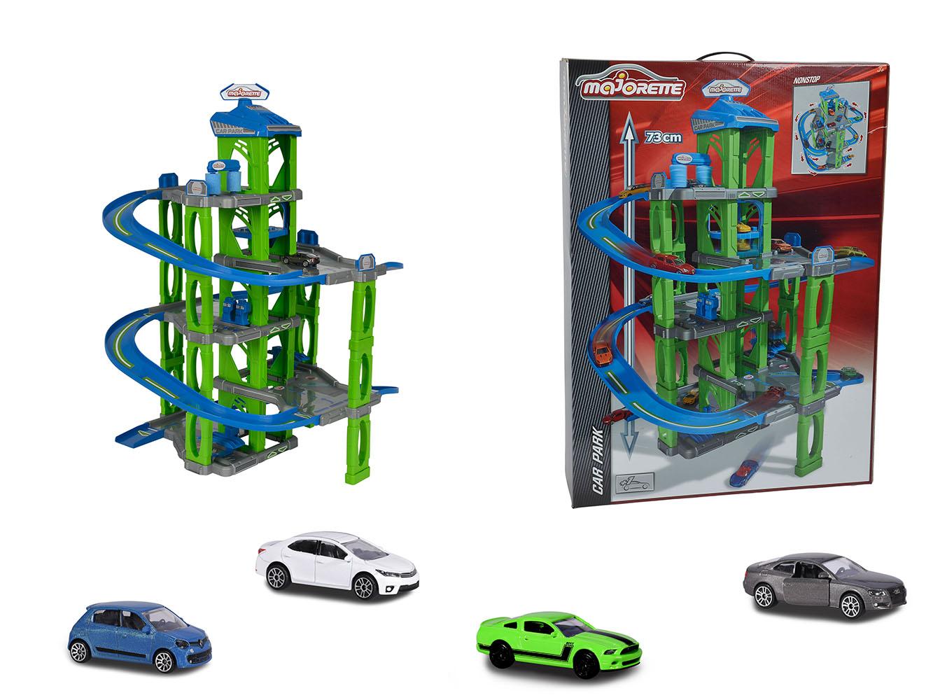Majorette Car park 5 levels with car