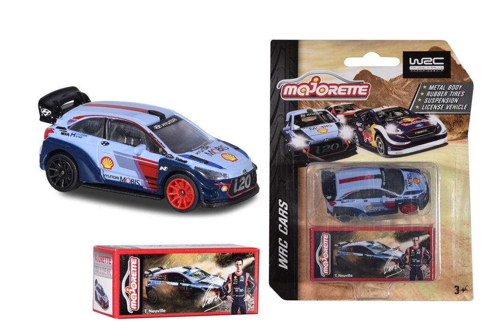 Majorette - 1:64 Collection Racing WRC assorted