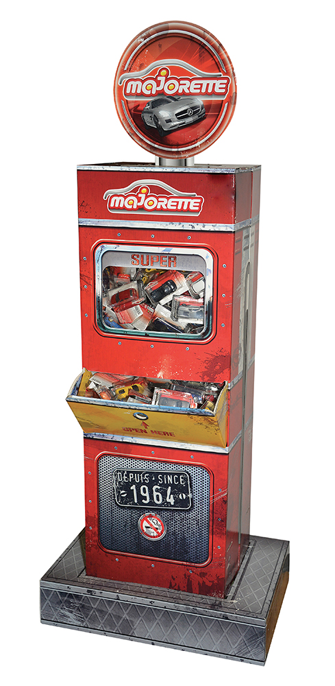 Majorette - Gas Pump Display (empty)