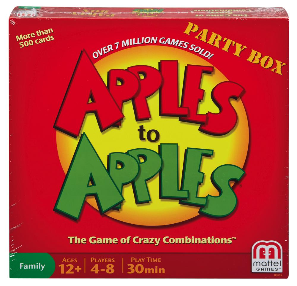 Apples to apples Party Box English only