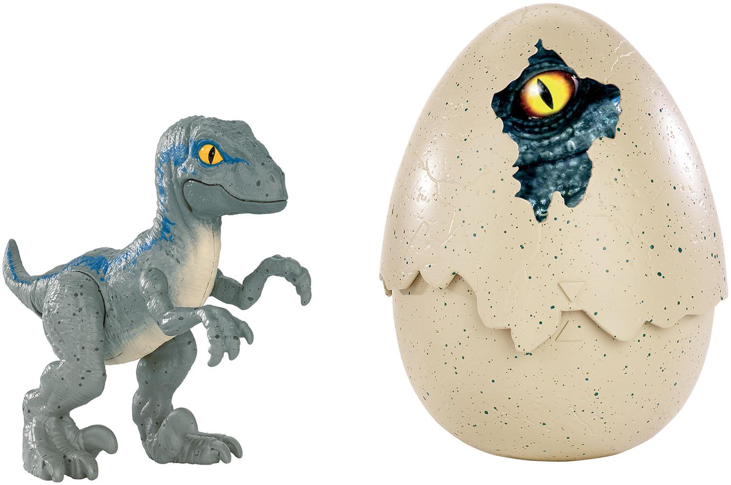 Jurassic World-Hatchlings assortis