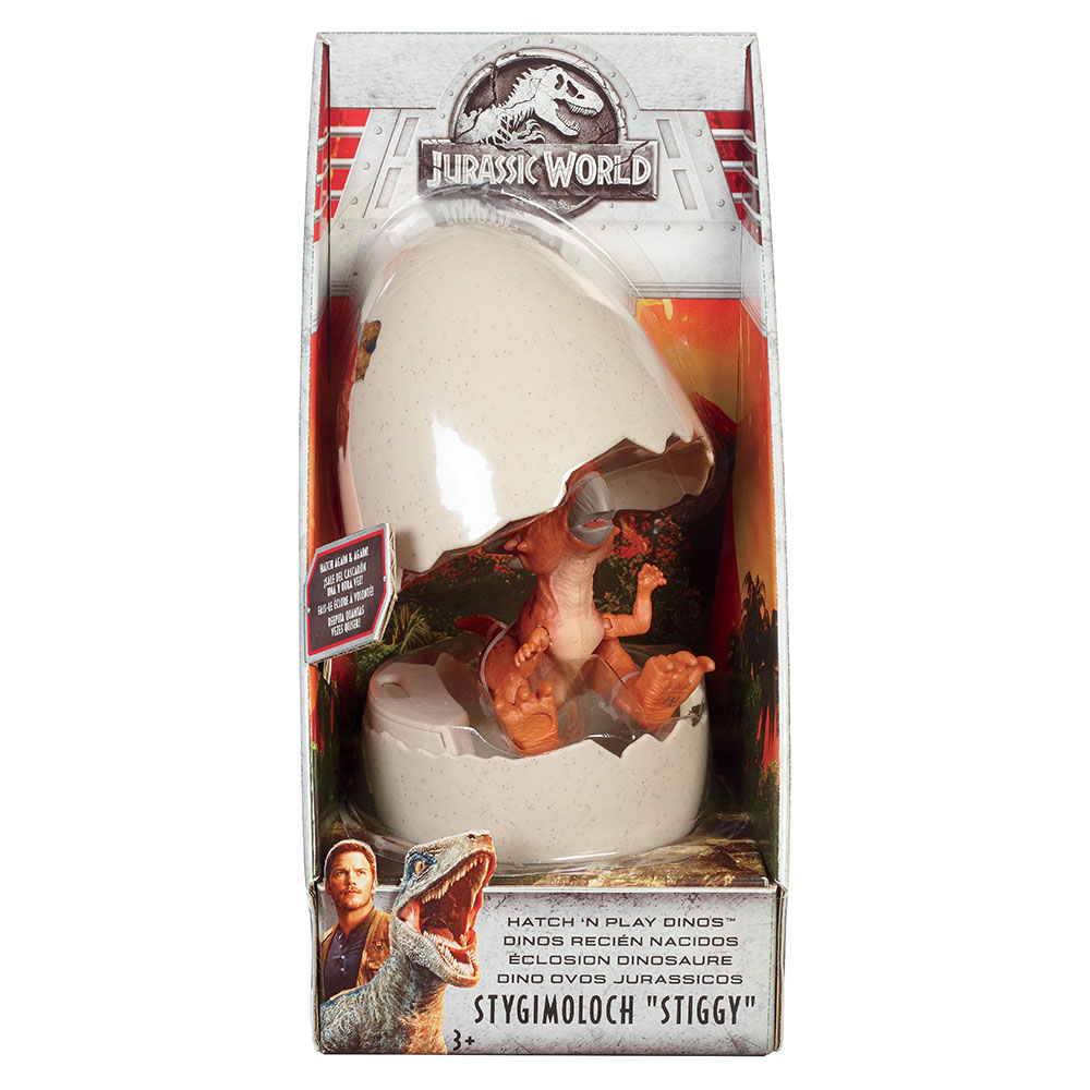 Jurassic World-Hatchlings assorted