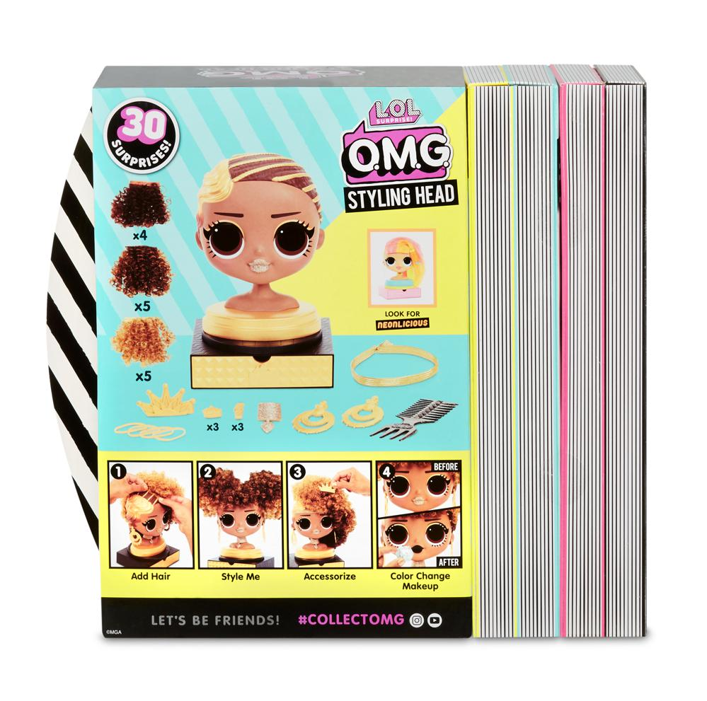 L.O.L. Surprise! - OMG Styling Head assorted