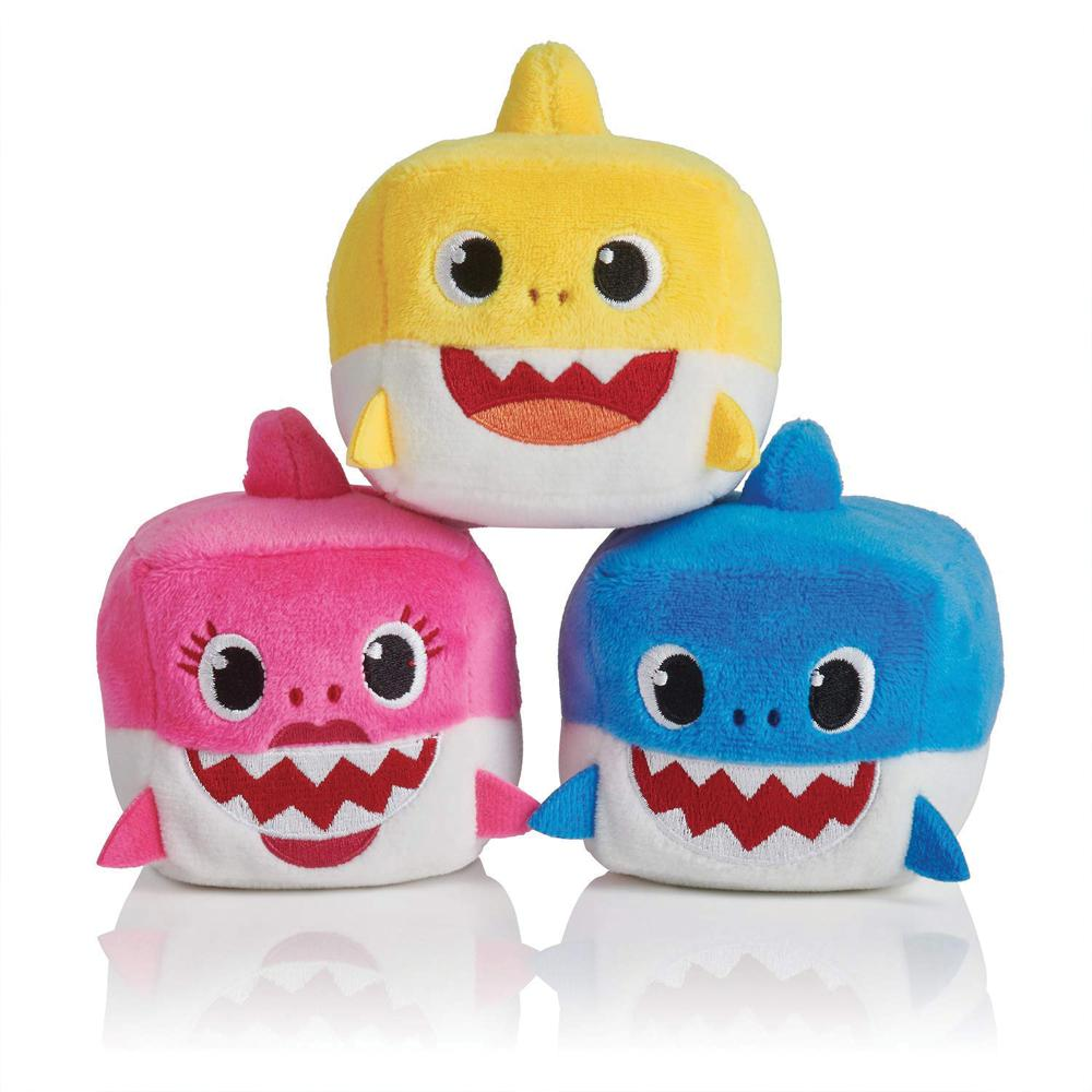 Baby Shark - Sound Doll Plush Cube assorted