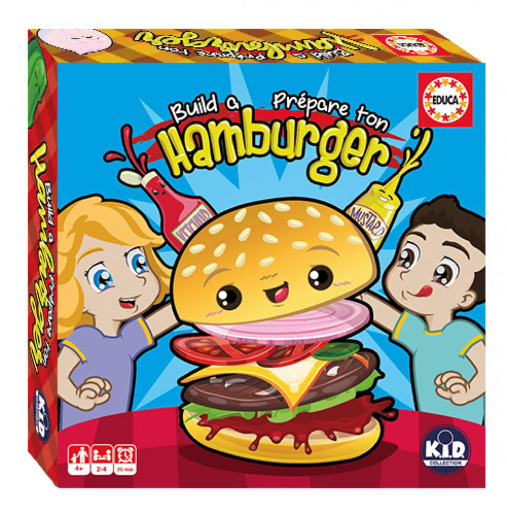 Educa - Game Build a Burger