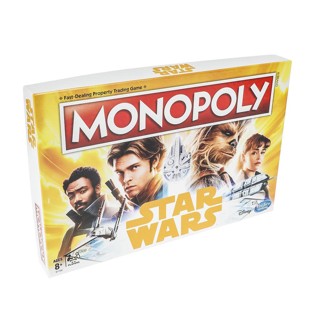 Star Wars Han Solo Monopoly anglais