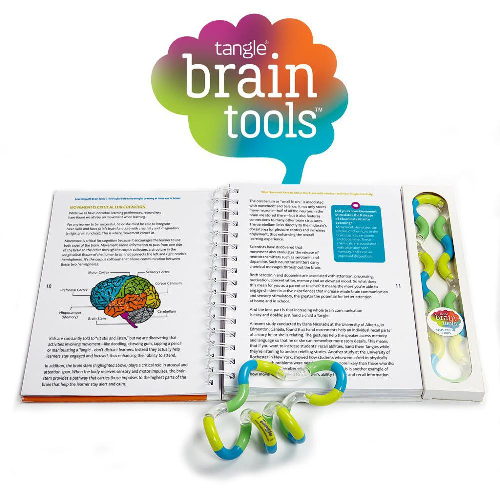 Tangle Book Brain Tools French version