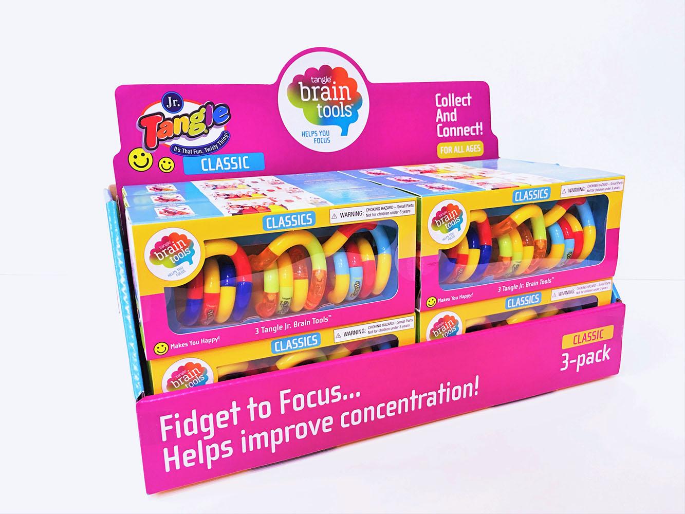 Tangle Jr. - Brain Tools 3-pack Classics