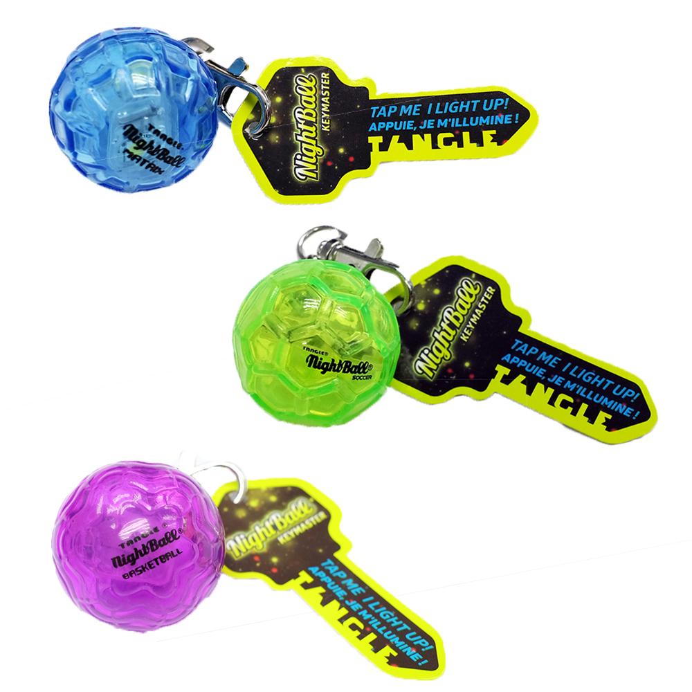 Tangle - LED Nightball Keychain assorted