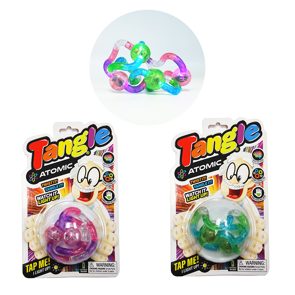Tangle - Light-up Atomic 2 LED assorted