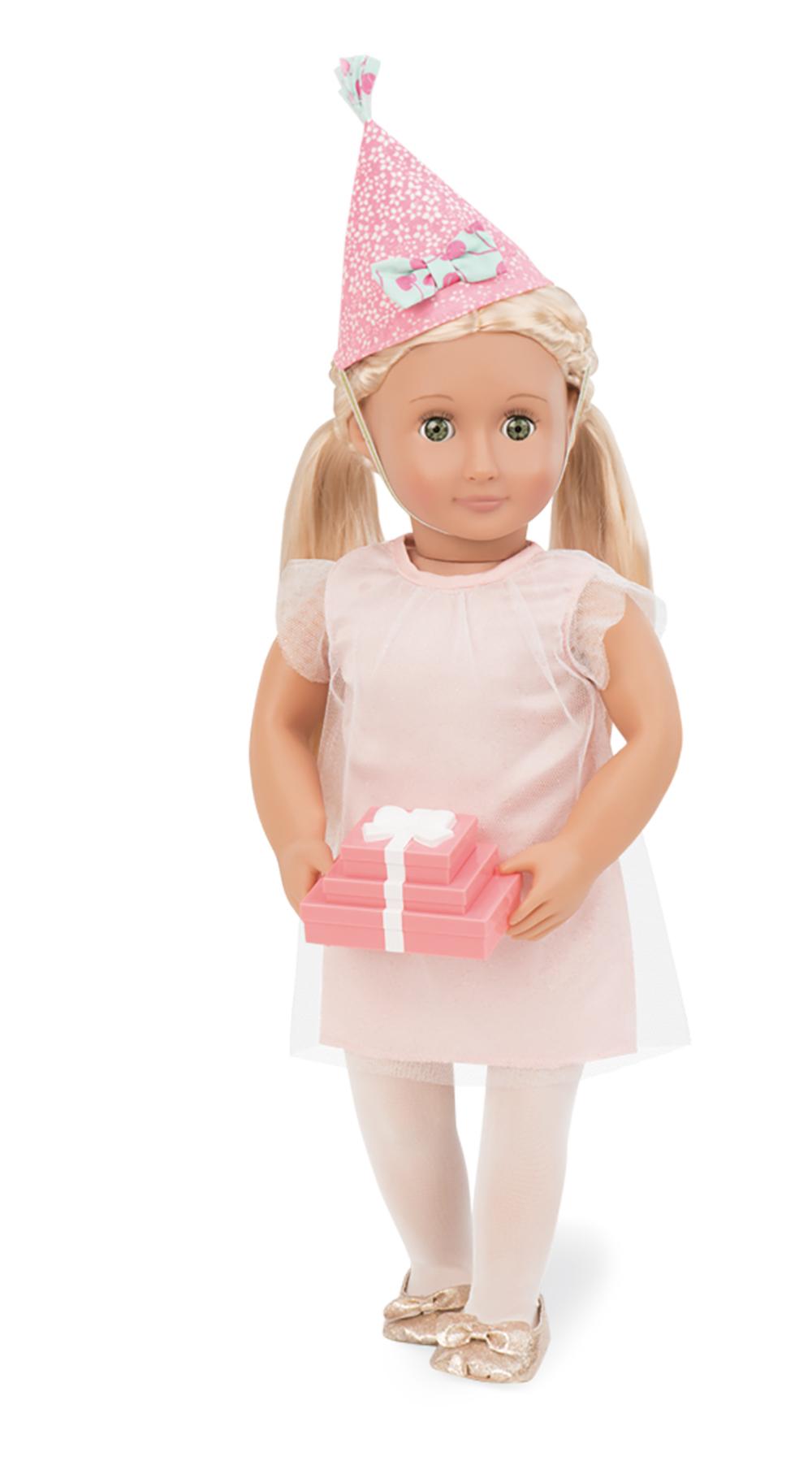 Ensemble de luxe C'est la fête pour poupée OG de 46 cm