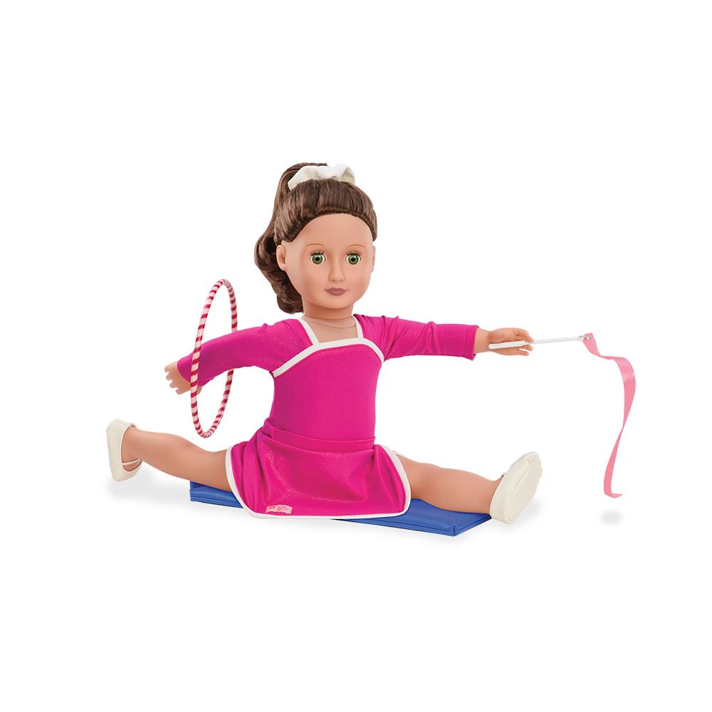 Ensemble Gymnastique de luxe Leaps and Bounds pour poupée OG de 46 cm