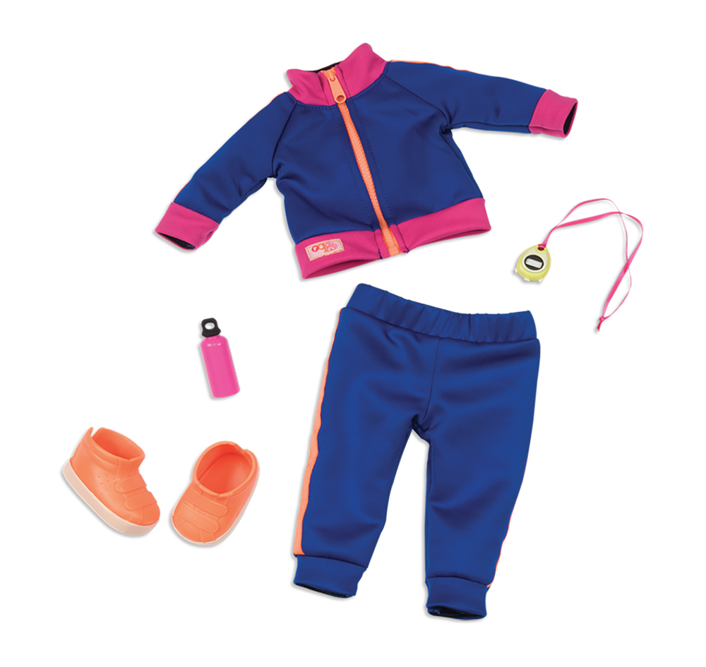 Outfit OG - Winning Track for 18 doll