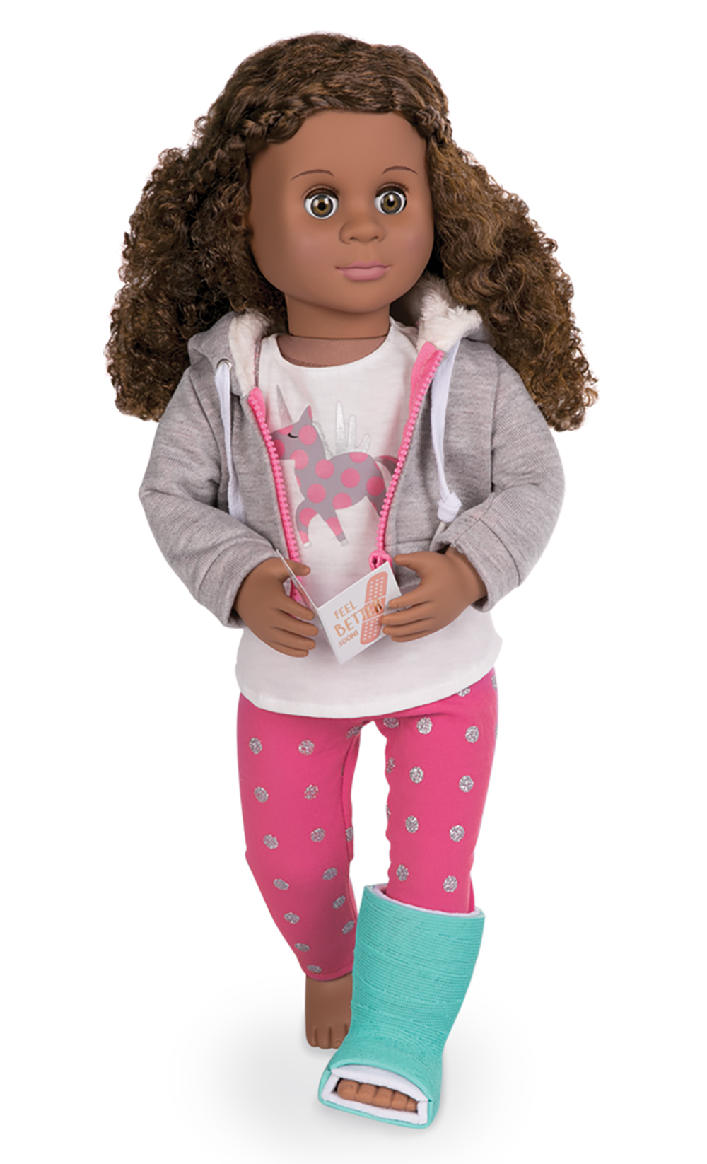 Deluxe Outfit OG - Get Well Soon for 18 Doll