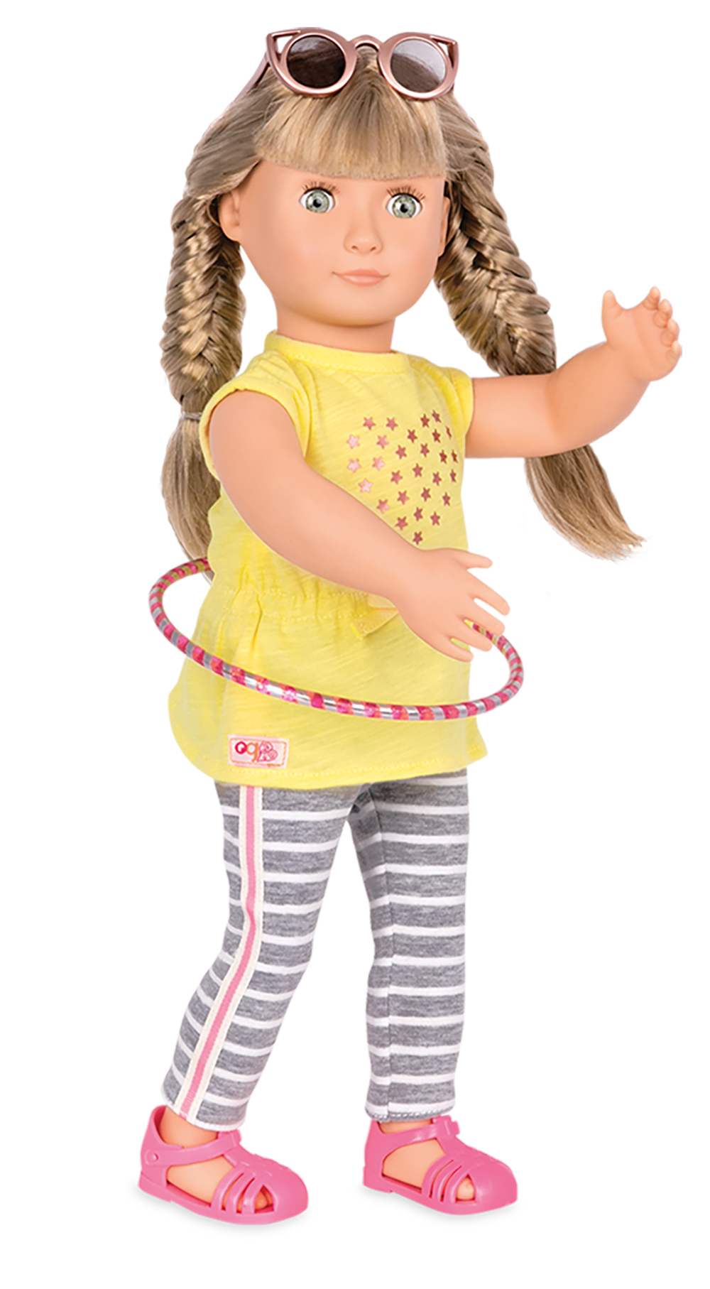 Hula Hooray Outfit for 18 OG doll