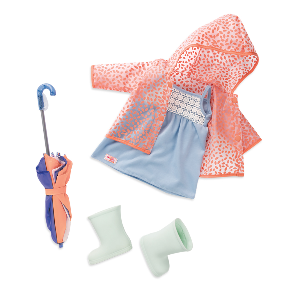 Deluxe Outfit OG - Brighten up a rainy day for 18 Doll