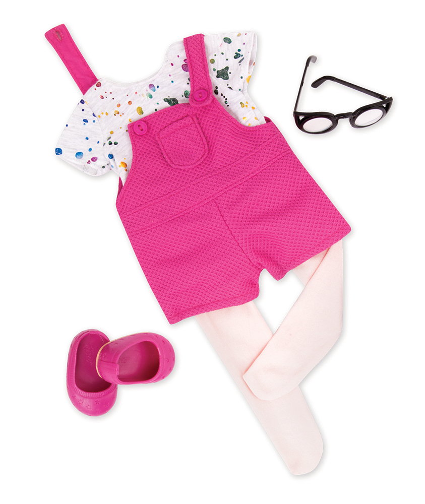 Outfit Set OG - A Spash of Fun for 18 Doll