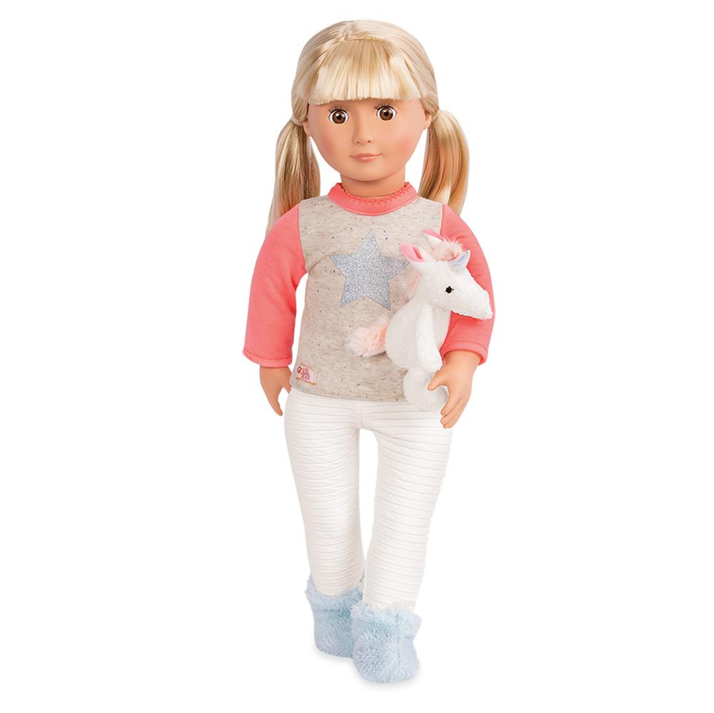 Ensemble Unicorn Wishes pour poupée OG de 46 cm