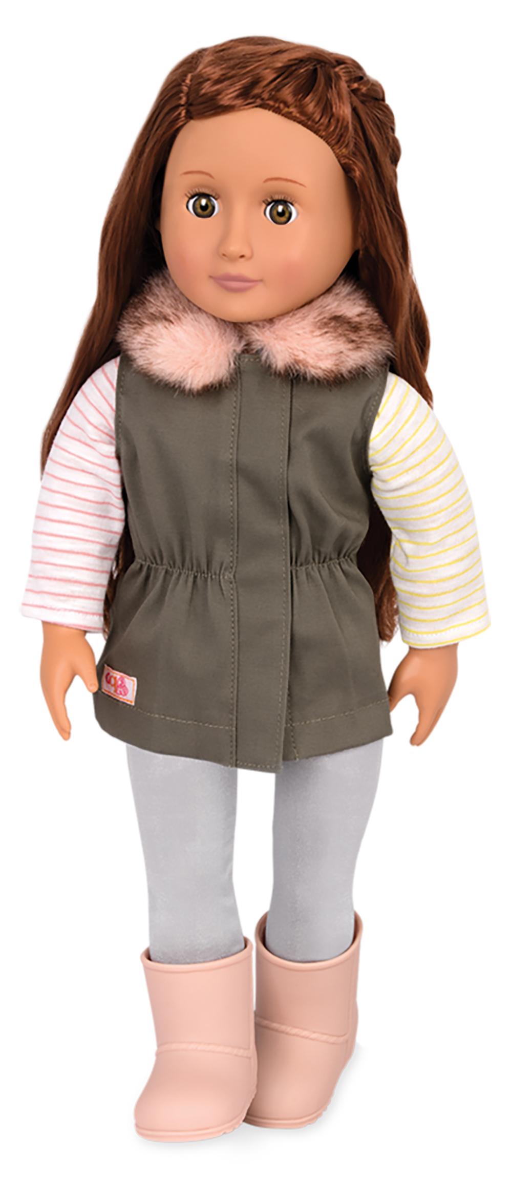 Ensemble Fun Fur Fall pour poupée OG de 46 cm