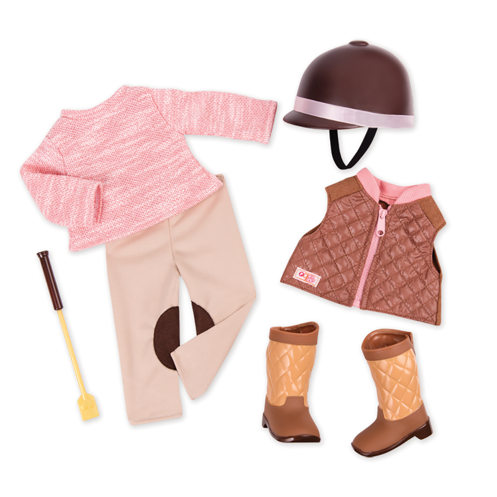 Deluxe Outfit OG - Riding in Style for 18 Doll