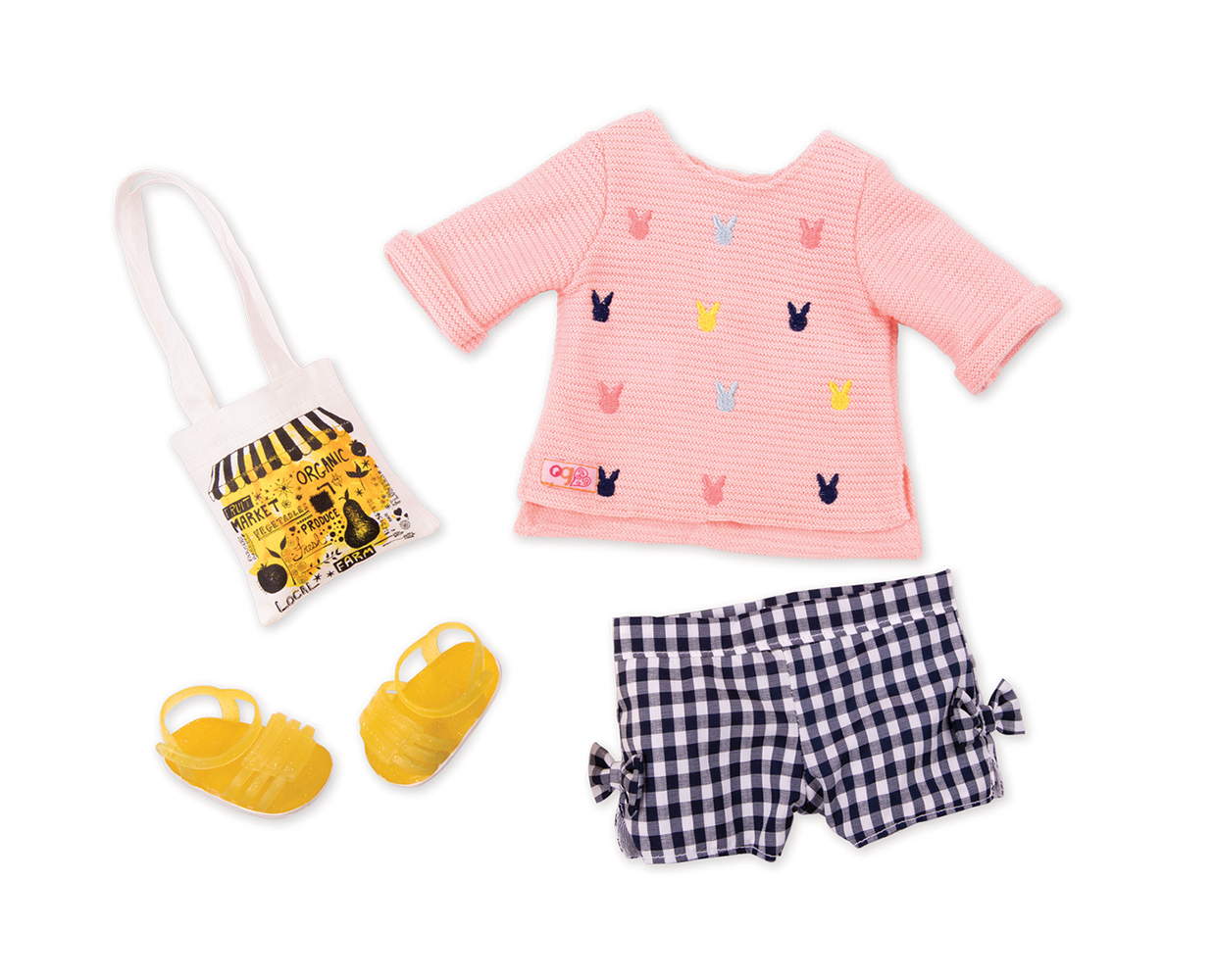 Outfit OG - Market Day for 18 Doll