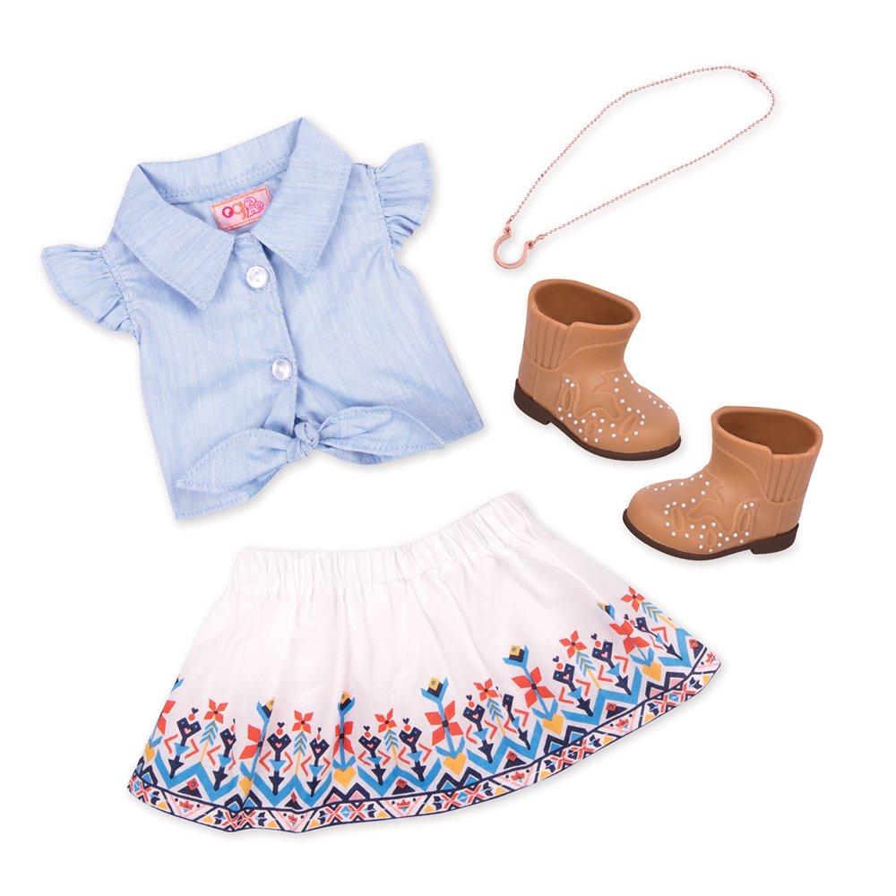 Outfit OG - My Lucky Horseshoe for 18 Doll