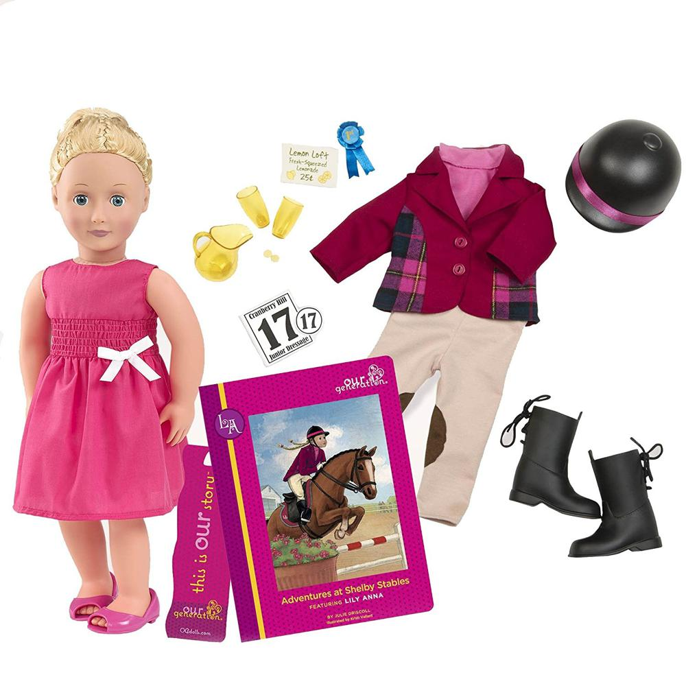 Doll OG Deluxe - Lily Anna Rider 18