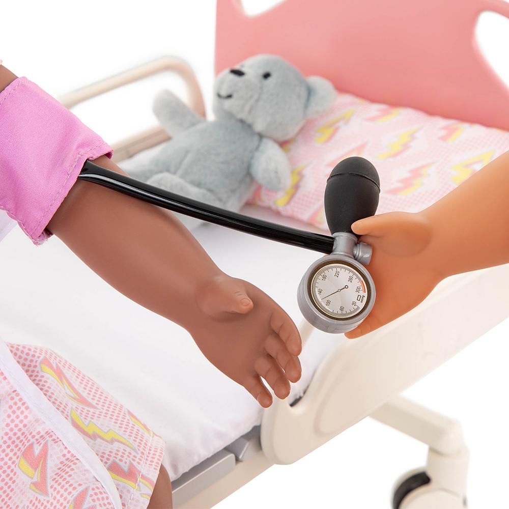 Accessories OG - Get Well Bed Hospital Gurney set