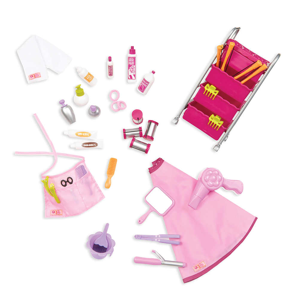 Accessories OG - Berry Nice Salon for 18 Doll