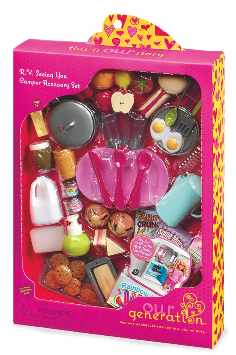 Accessories OG - R.V. Seeing You for 18 Doll