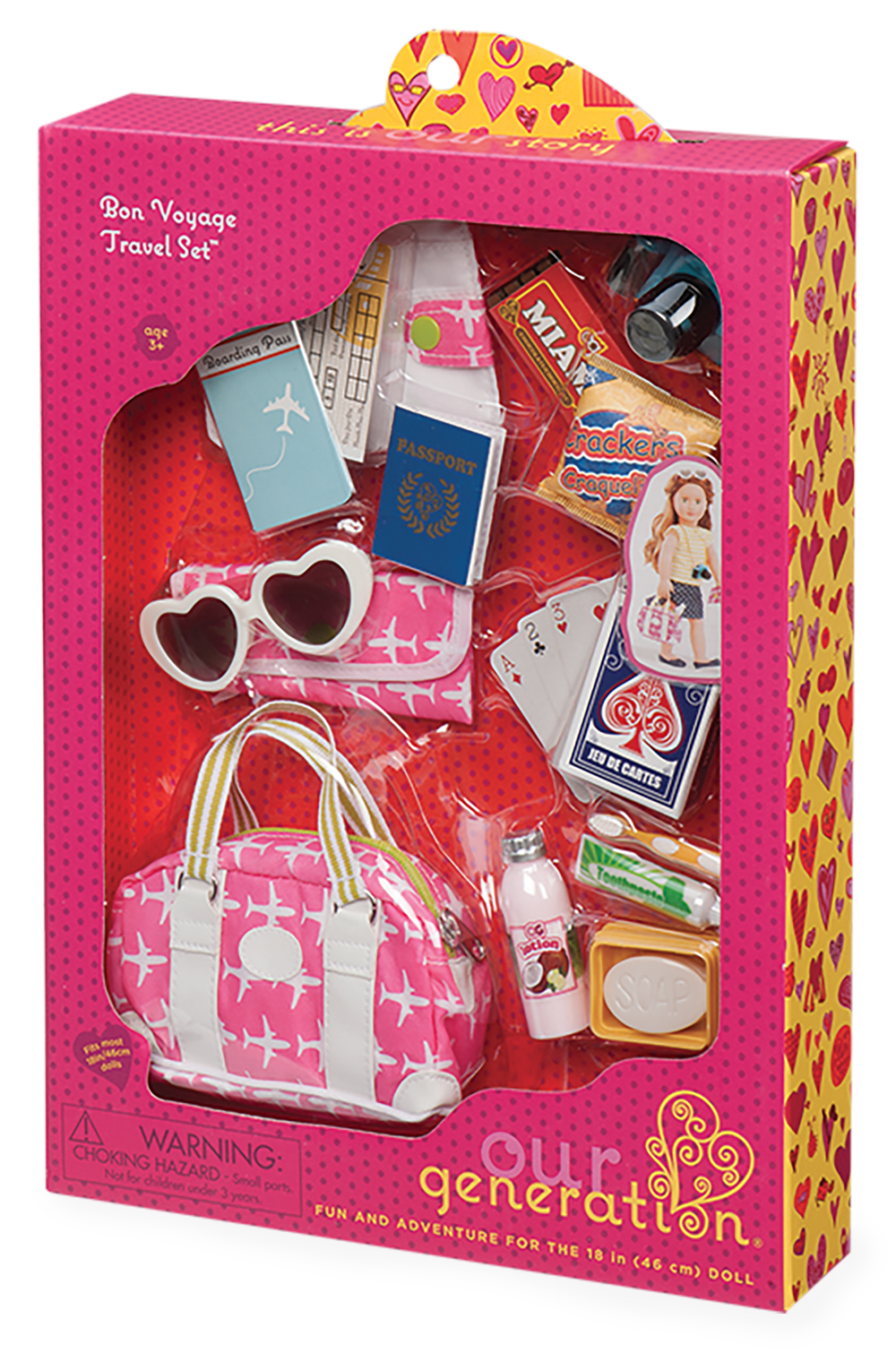 Accessories OG - Bon Voyage Travel Set for 18 Doll