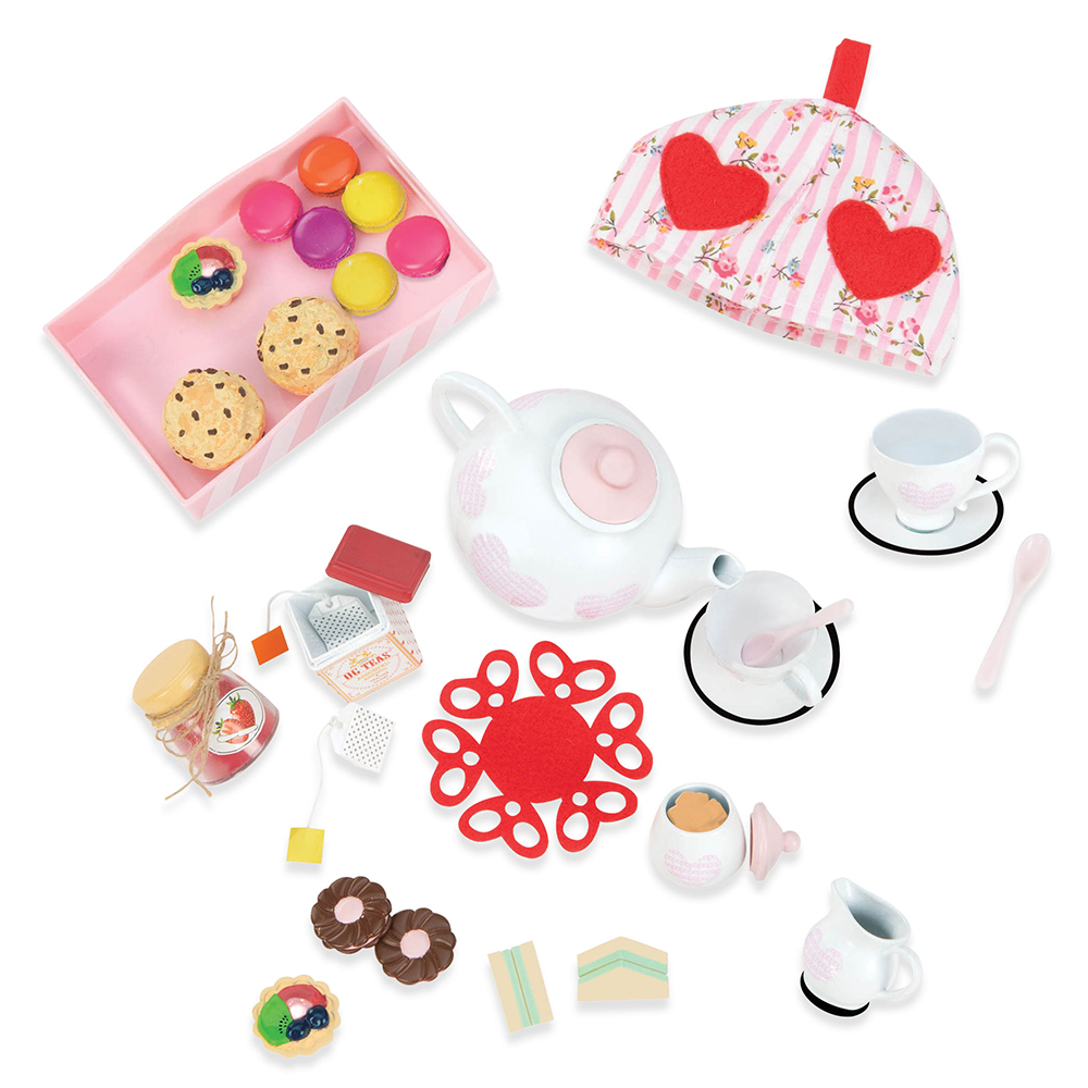 Accessories OG - Tea For Two for 18 Doll
